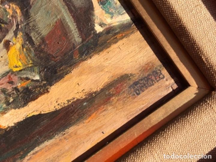 Arte: OLEO SOBRE TABLA, MARINA, FIRMA TEODORO DELGADO - Foto 2 - 196733373