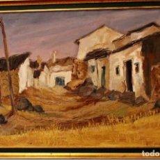 Arte: ÓLEO,PAISAJE,FIRMADO NAVARRO,121 X 81, 111 X 71 CM DE LIENZO. Lote 196910187