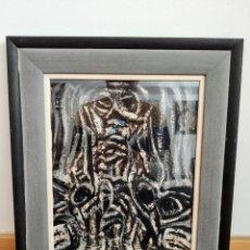 Arte: JOHN ULBRICHT (1926-2006). ÓLEO ABSTRACTO 2 ( MALLORCA - PINTURA - CUADRO - BALEARES ). Lote 196955608
