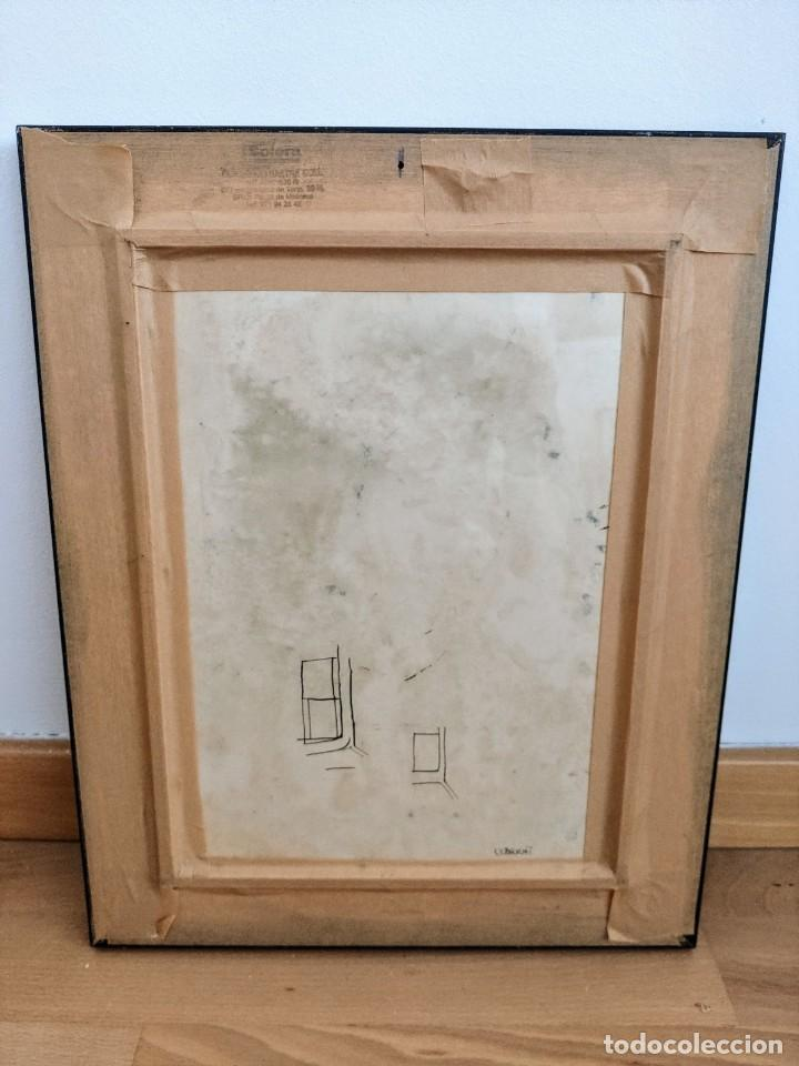 Arte: JOHN ULBRICHT (1926-2006). ÓLEO ABSTRACTO 2 ( MALLORCA - PINTURA - CUADRO - BALEARES ) - Foto 3 - 196955608