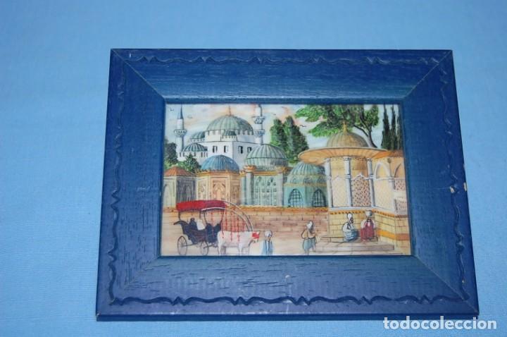 MINIATURA EN HUESO ISTAMBUL (Arte - Pintura - Pintura al Óleo Antigua sin fecha definida)