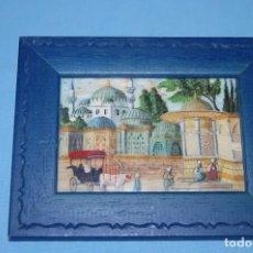 Arte: MINIATURA EN HUESO ISTAMBUL. Lote 197191311