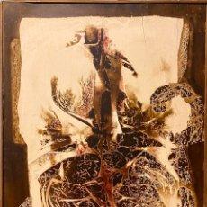 Arte: LOLA MASSIEU, 1968. 131 X 100 CM.. Lote 197252765