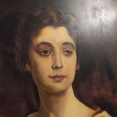 Arte: ÓLEO SOBRE TABLA FIRMADO RAFAEL IBORRA GALLACH LA CONDESA DE ROCK SAVAGE 1913 JOHN SING EL SARGENT. Lote 197258832