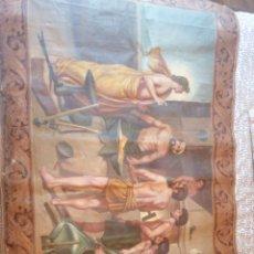 Arte: LA FRAGUA DE VULCANO OLEO SOBRE TAPIZ PINTADO A MANO OPORTUNIDAD UNICA EN TODOCOLECION. Lote 197290137