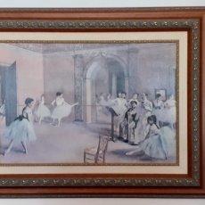 Arte: PINTURA CLASE DE BALLET. Lote 197301461