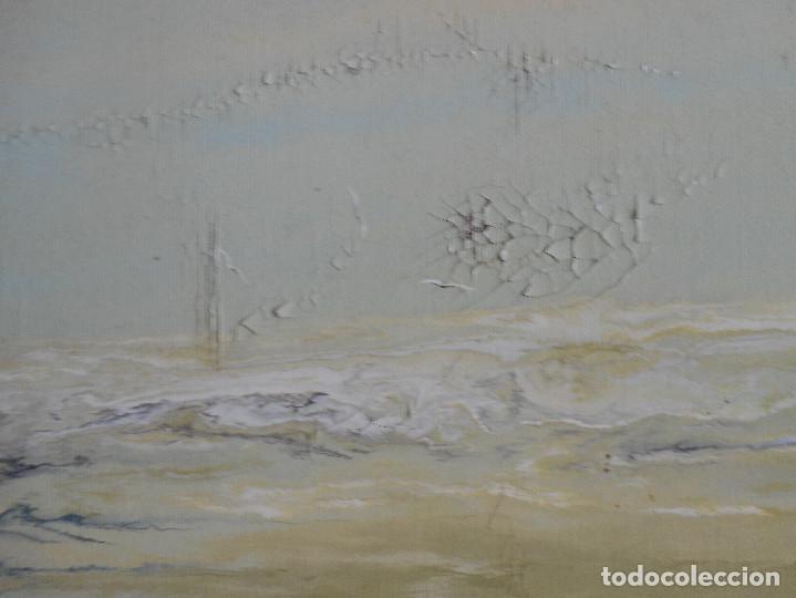 Arte: OLEO, PINTURA VALENCIANA S. XX . Antonio Serer. A restaurar policromía. - Foto 4 - 197336790