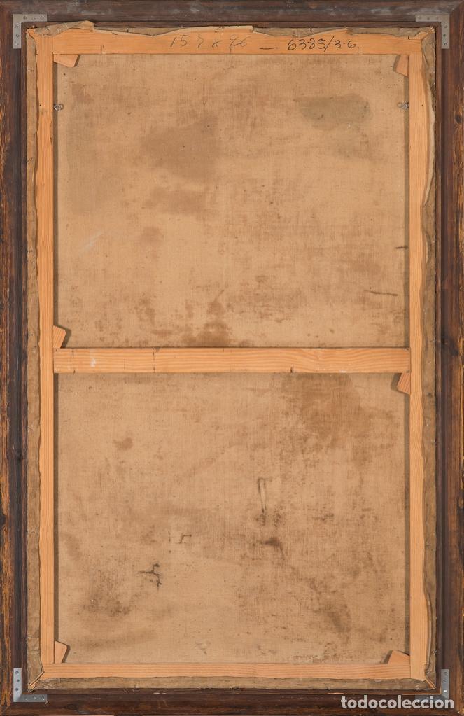 Arte: Óleo lienzo Inmaculada Escuela valenciana siglo XVIII - Foto 4 - 197343010