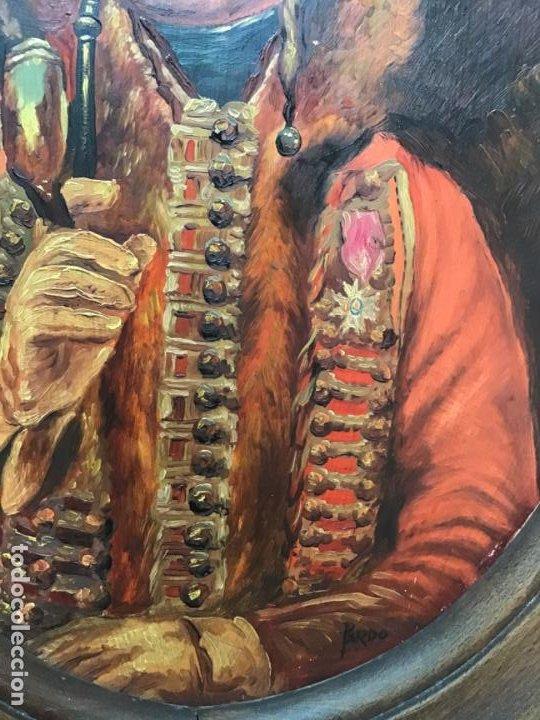 Arte: 2 ANTIGUAS PINTURAS . RETRATOS DE CABALLERO Y DAMA , OLEO SIGLO XIX FIRMADOS - Foto 6 - 197356645