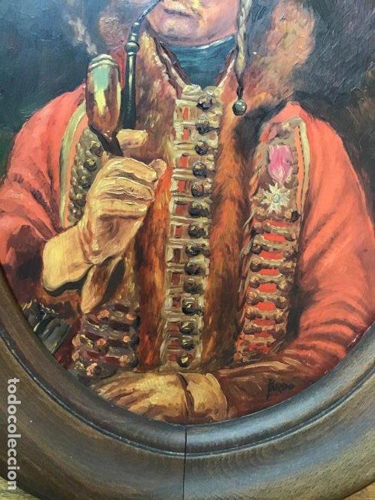Arte: 2 ANTIGUAS PINTURAS . RETRATOS DE CABALLERO Y DAMA , OLEO SIGLO XIX FIRMADOS - Foto 15 - 197356645
