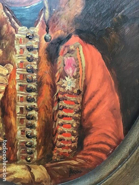 Arte: 2 ANTIGUAS PINTURAS . RETRATOS DE CABALLERO Y DAMA , OLEO SIGLO XIX FIRMADOS - Foto 21 - 197356645