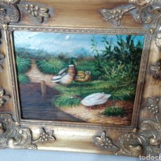 Arte: CUADRO PINTADO EN TABLA. Lote 197386470