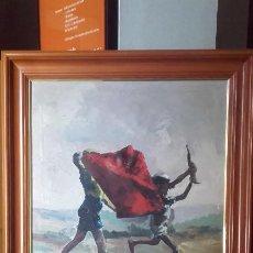 Arte: EXCELENTE PINTURA TAURINA / BUEN TAMAÑO . Lote 197453371