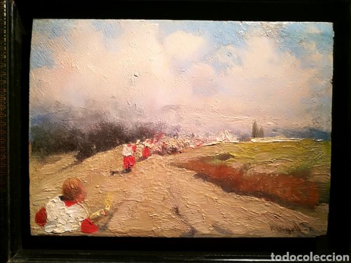 Arte: LA PROCESIÓN POR RICARD URGELL (1874-1924) - Foto 2 - 197670725