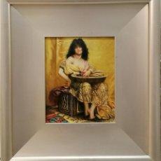 Arte: FIGURA DEL ARTISTA P.TEJERO (1933-1985). Lote 197731360
