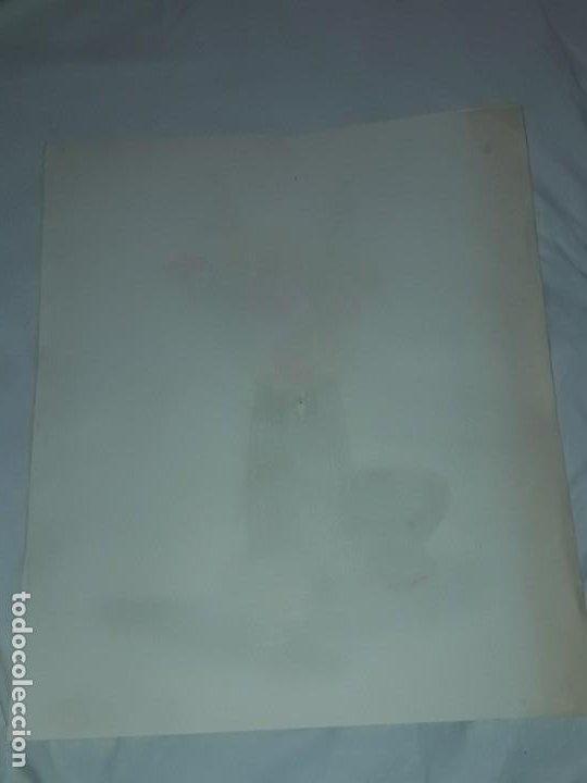 Arte: Bella pintura Bodegón flores a pastel año 1999 - Foto 5 - 197746136