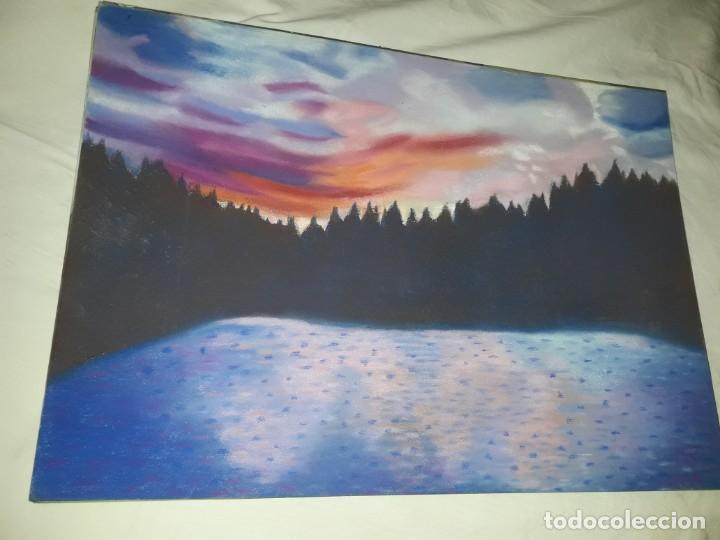 Arte: Bella pintura paisaje a pastel año 2003 - Foto 3 - 197749907