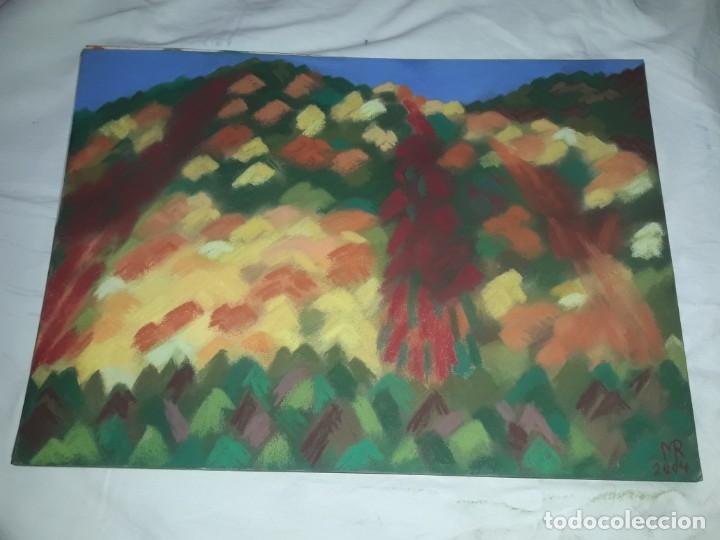 BELLA PINTURA PAISAJE A PASTEL 2004 (Arte - Pintura Directa del Autor)