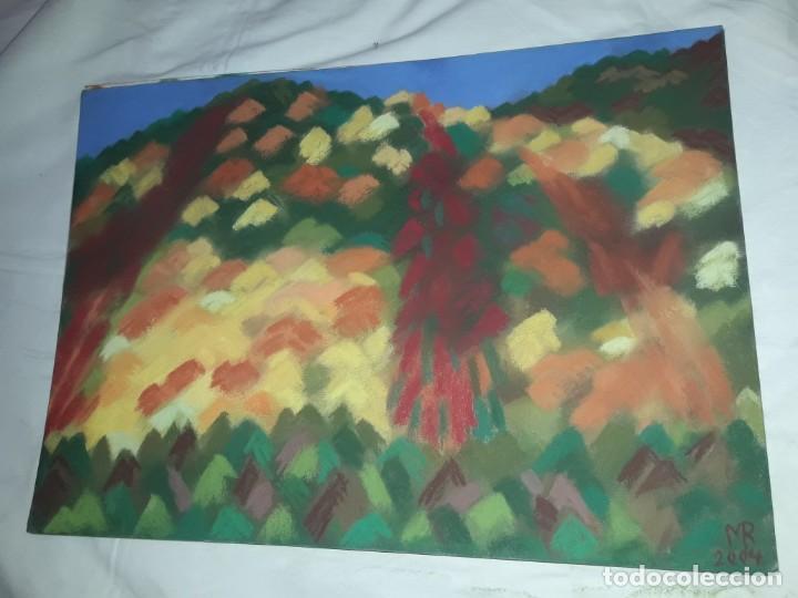 Arte: Bella pintura Paisaje a pastel 2004 - Foto 2 - 197754101