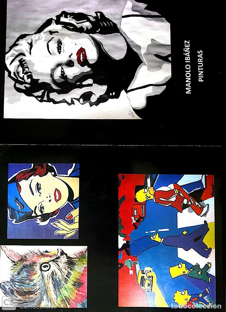 Arte: MANOLO IBAÑEZ. LA TOALLA. ACRÍLICO SOBRE TABLA 42 X 28 CM - Foto 5 - 197763055