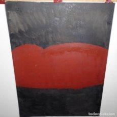 Arte: ÓLEO Y TINTA SOBRE PAPEL FIRMADO SAYOL.ABSTRACTO.AÑOS 70.. Lote 197809765
