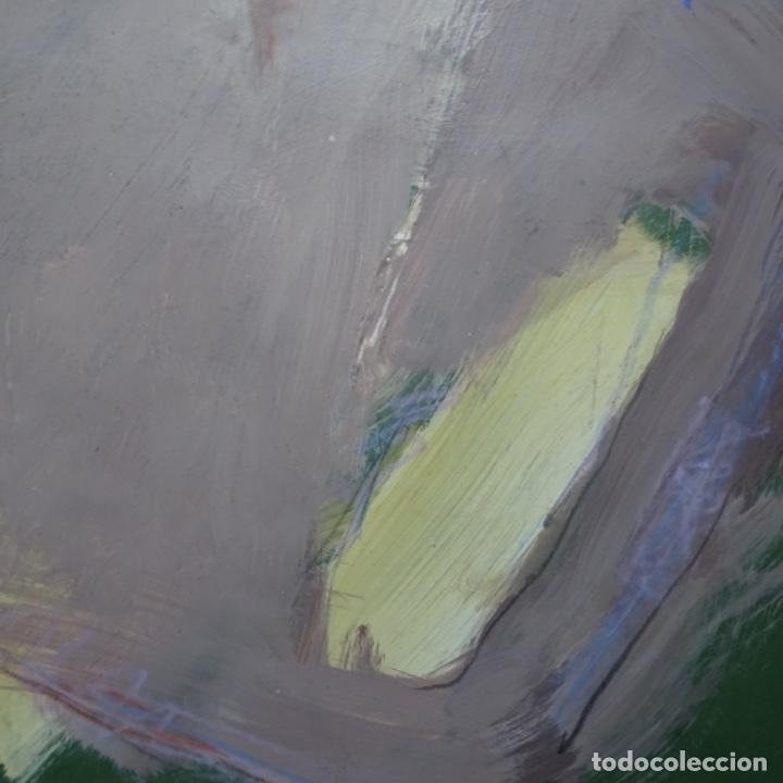 Arte: Gran óleo abstracto de Elvira fustero.1989. - Foto 6 - 197814308
