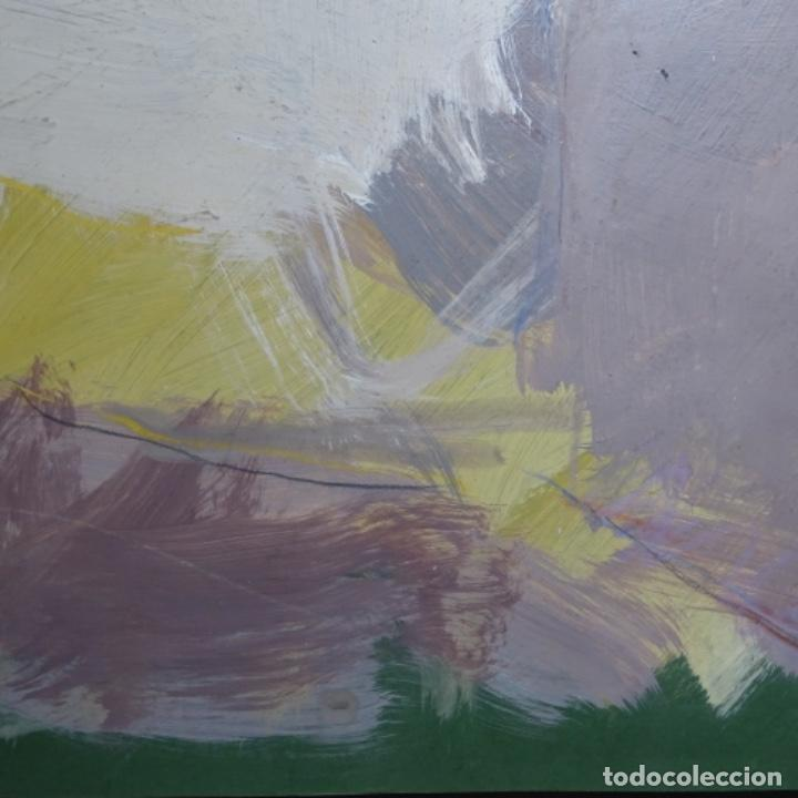 Arte: Gran óleo abstracto de Elvira fustero.1989. - Foto 7 - 197814308