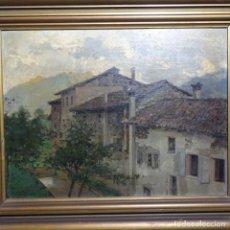 Arte: EXCELENTE ÓLEO SOBRE TABLA DE RAFFAELE TAFURI (SALERMO 1857-VENEZIA 1929).LA PINACOTECA.VENECIA?. Lote 197825891