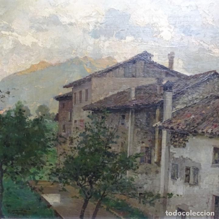 Arte: Excelente óleo sobre tabla de raffaele tafuri (salermo 1857-venezia 1929).la pinacoteca.venecia? - Foto 3 - 197825891