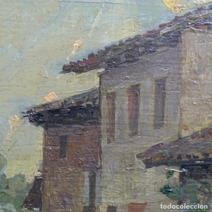 Arte: Excelente óleo sobre tabla de raffaele tafuri (salermo 1857-venezia 1929).la pinacoteca.venecia? - Foto 12 - 197825891