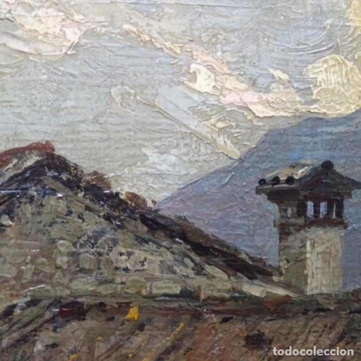 Arte: Excelente óleo sobre tabla de raffaele tafuri (salermo 1857-venezia 1929).la pinacoteca.venecia? - Foto 15 - 197825891