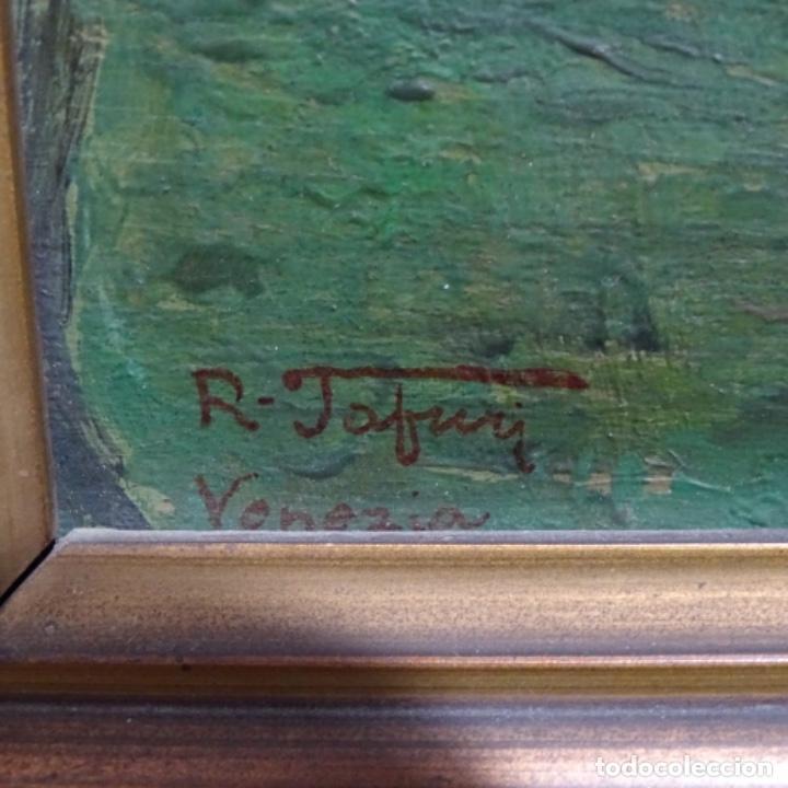 Arte: Excelente óleo sobre tabla de raffaele tafuri (salermo 1857-venezia 1929).la pinacoteca.venecia? - Foto 24 - 197825891