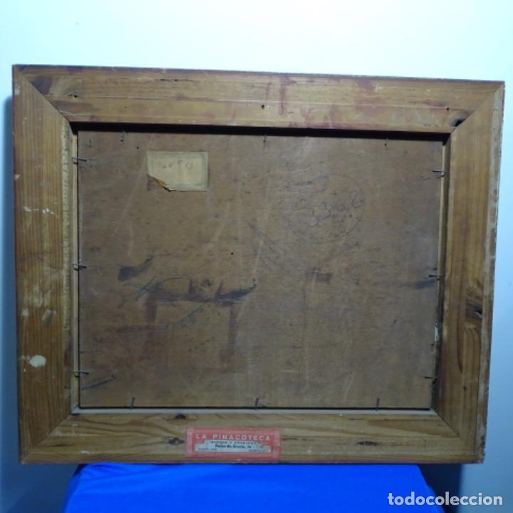 Arte: Excelente óleo sobre tabla de raffaele tafuri (salermo 1857-venezia 1929).la pinacoteca.venecia? - Foto 25 - 197825891