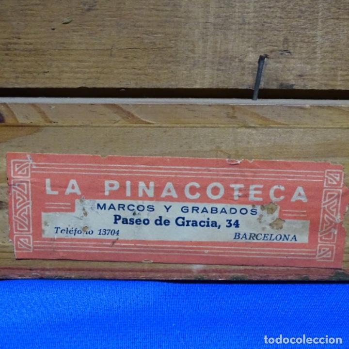 Arte: Excelente óleo sobre tabla de raffaele tafuri (salermo 1857-venezia 1929).la pinacoteca.venecia? - Foto 27 - 197825891