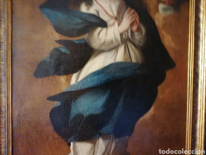 Arte: INMACULADA CONCEPCIÓN. ESCUELA SEVILLANA - Foto 3 - 197844373