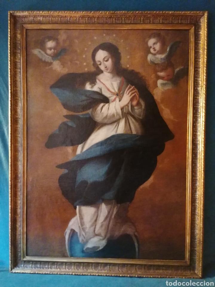 Arte: INMACULADA CONCEPCIÓN. ESCUELA SEVILLANA - Foto 9 - 197844373