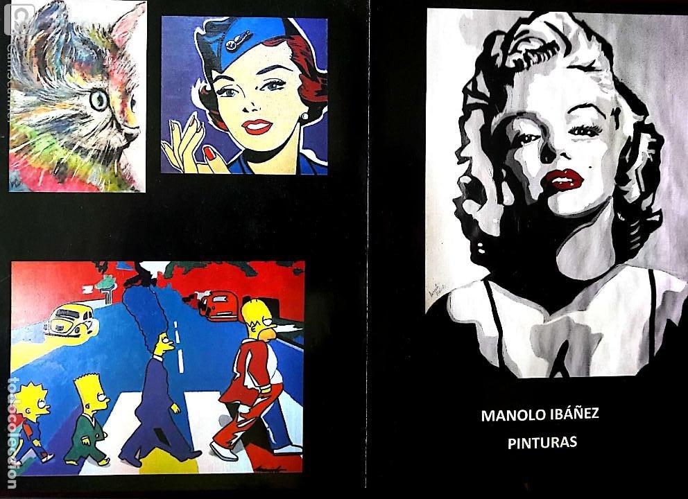 Arte: MANOLO IBÁÑEZ. ELVIS.ACRILICO SOBRE PAPEL 65 X 50 CM. - Foto 9 - 163326702