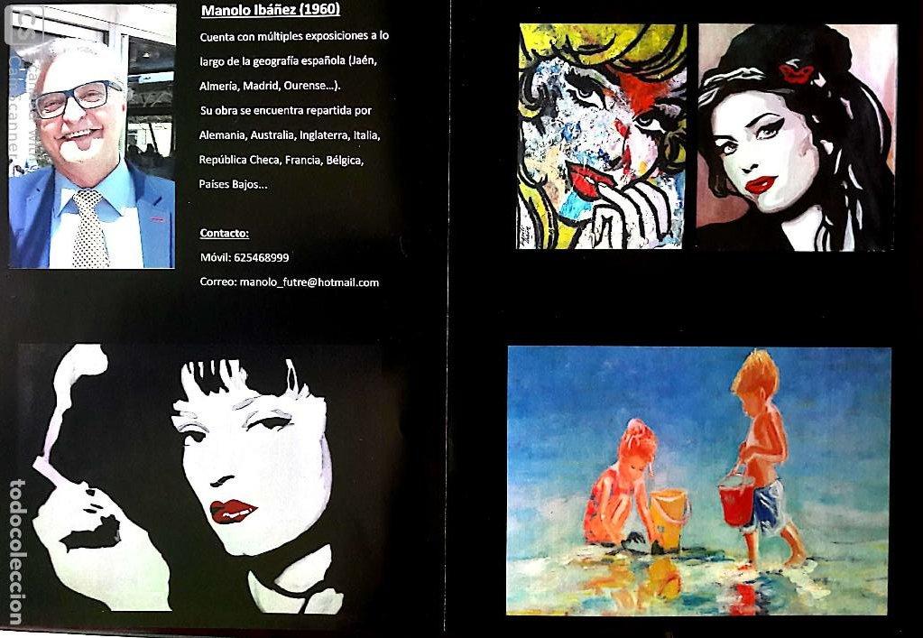 Arte: MANOLO IBÁÑEZ. ELVIS.ACRILICO SOBRE PAPEL 65 X 50 CM. - Foto 10 - 163326702