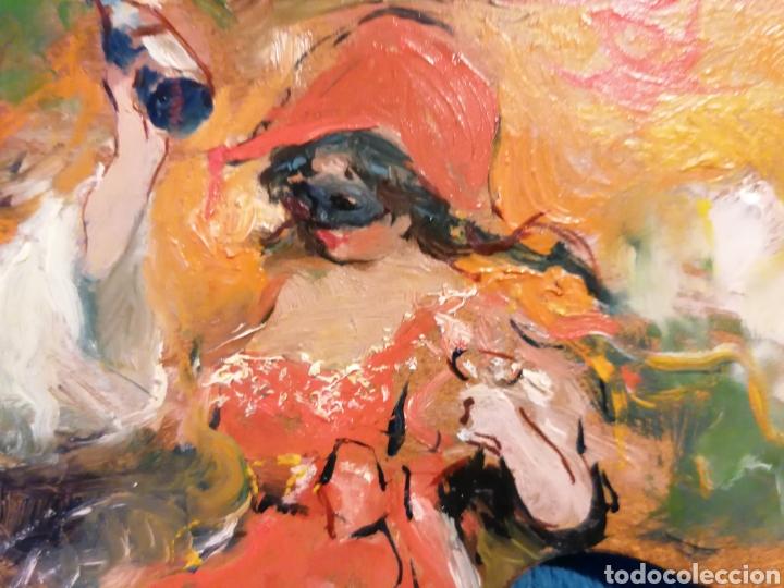 Arte: PALETA PINTADA POR LUIS BLESA Y PRATS. CARNAVAL - Foto 5 - 197856860