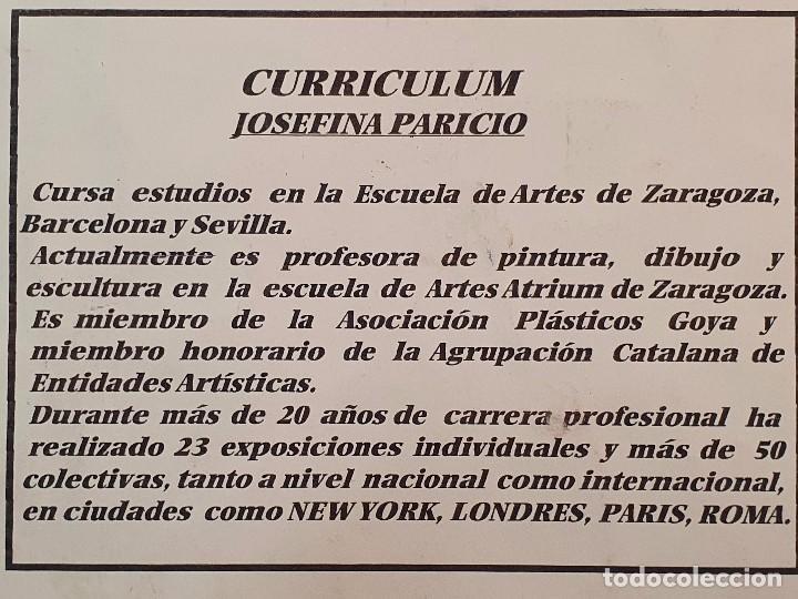 Arte: CUADRO JOSEFINA PARICIO FIRMADO - Foto 12 - 197883563