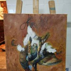 Arte: OLEO BEGOÑA ARANA 1993. Lote 197899781