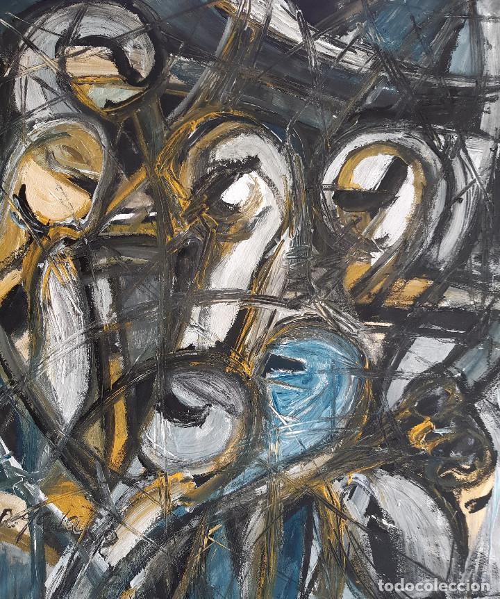Arte: pintura sobre tela original firmada - Foto 2 - 197911460