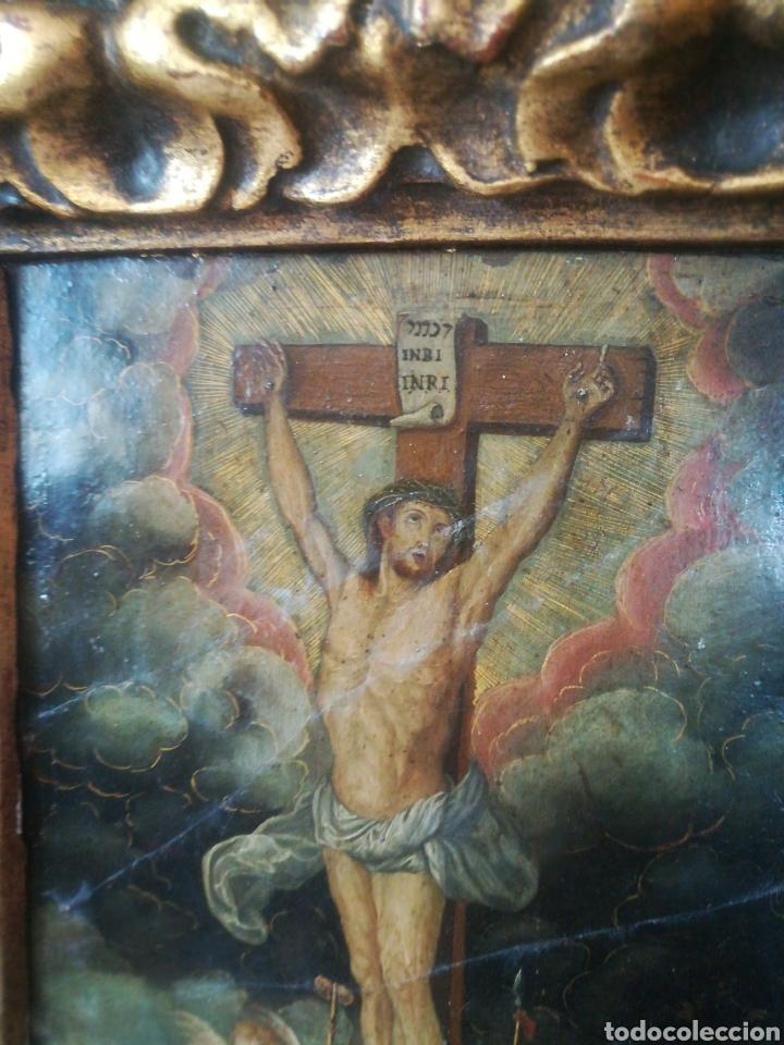 Arte: Óleo sobre cobre. Escuela Colonial del XVII - Foto 3 - 182256735
