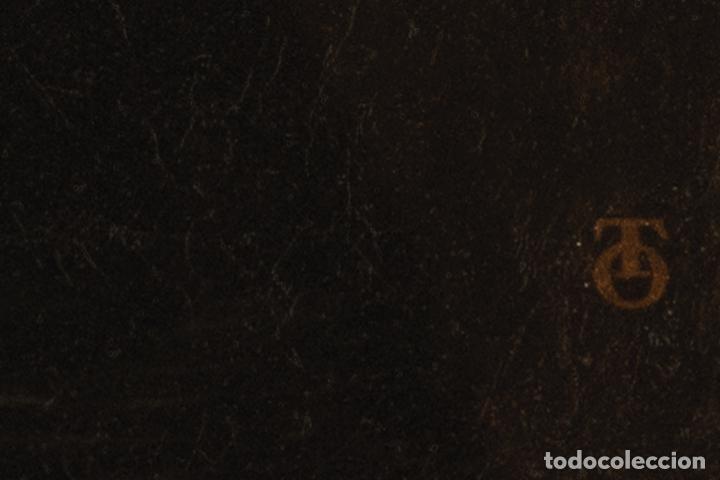 Arte: Óleo lienzo San Francisco de Borja Escuela toledana siglo XIX - Foto 3 - 198041673