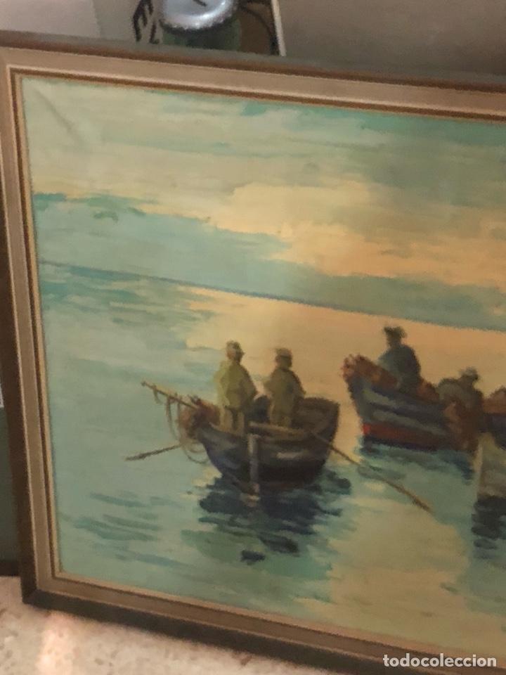 Arte: Bonito óleo sobre lienzo firmado, gran tamaño - Foto 2 - 198089245