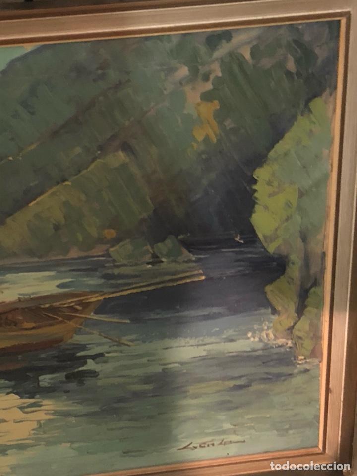 Arte: Bonito óleo sobre lienzo firmado, gran tamaño - Foto 5 - 198089245
