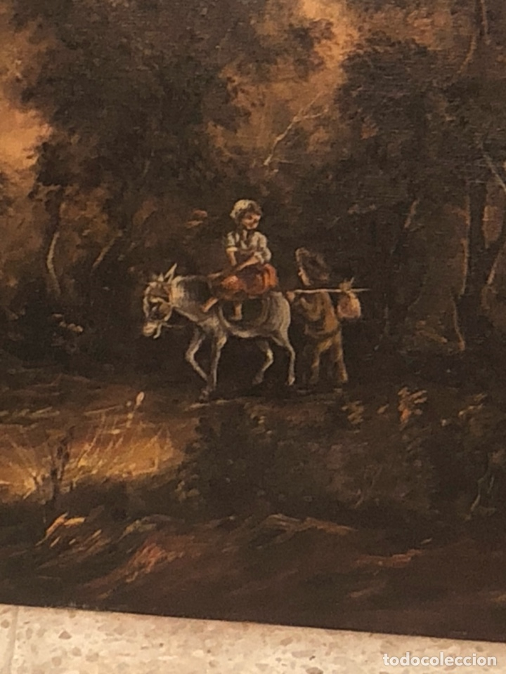 Arte: Bonito óleo sobre lienzo firmado, gran tamaño - Foto 3 - 198089455