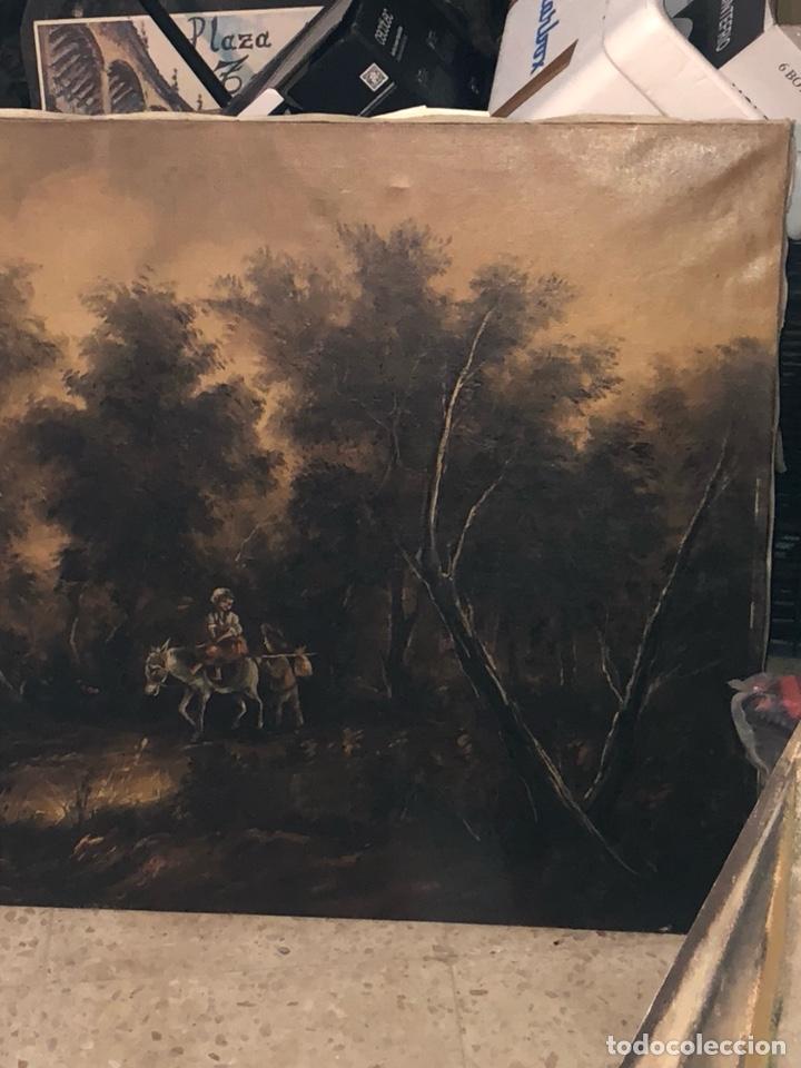 Arte: Bonito óleo sobre lienzo firmado, gran tamaño - Foto 4 - 198089455