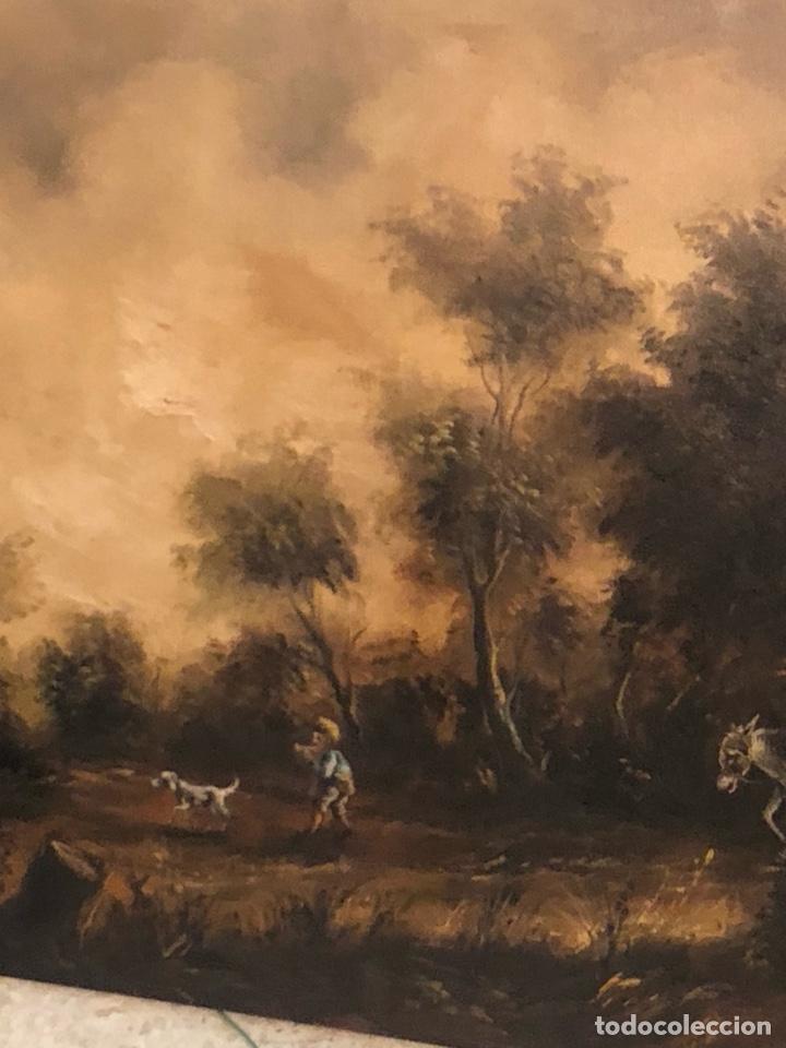 Arte: Bonito óleo sobre lienzo firmado, gran tamaño - Foto 5 - 198089455