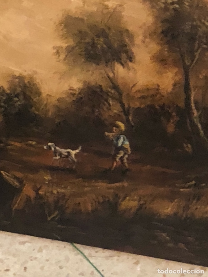 Arte: Bonito óleo sobre lienzo firmado, gran tamaño - Foto 6 - 198089455